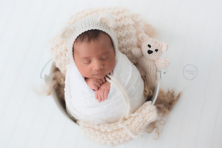 newborn boy teddy bear